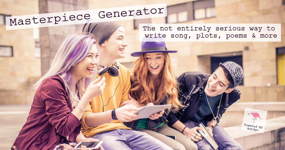 Character Personality Generator